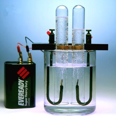 Электролиз воды: живая и
