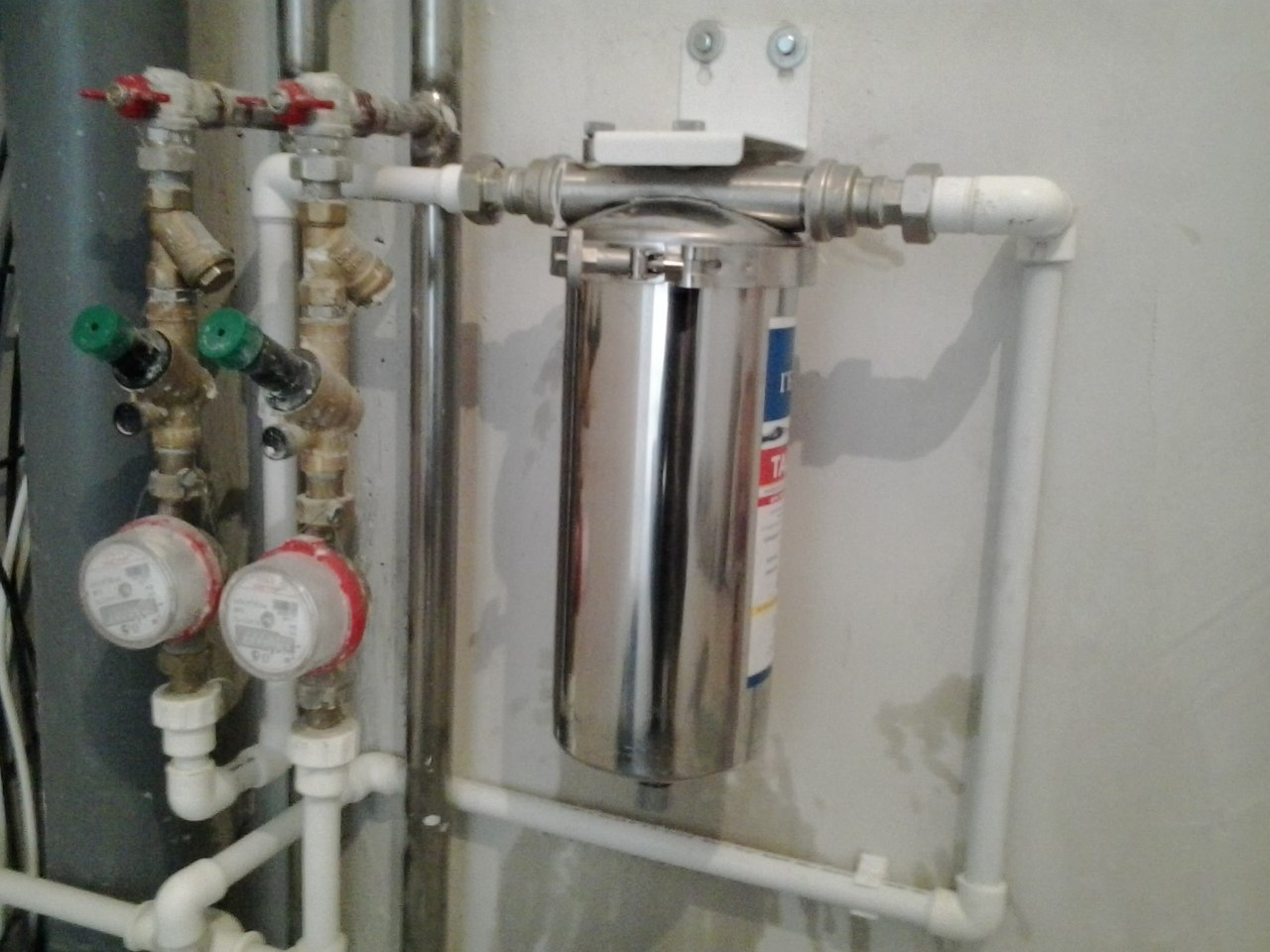 Схема гейзер фильтр для воды в