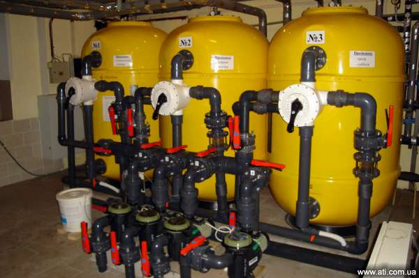 Дезинфицирующий фильтр воды для бассейна